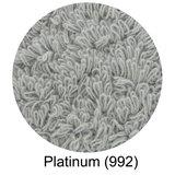 Luxe handdoeken Grijs Platinum_992  - Super Pile Serie Abyss Habidecor