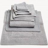 Luxe handdoeken Grijs Platinum_992  - Super Pile Serie Abyss Habidecor Stapel