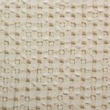 Wafel handdoek ecru 101 Pousada collectie Abyss Habidecor handdoeken detail