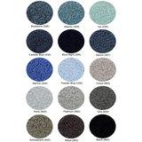 Beschikbare Kleuren in Blauw - Grijs (Super Pile Serie Abyss Habidecor)