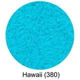 Luxe handdoeken Blauw Hawaii 380 - Super Pile Serie Abyss Habidecor