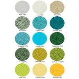 Beschikbare Kleuren in Teal - Groen - Geel (Super Pile Serie Abyss Habidecor)