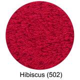 Luxe handdoeken rood Hibiscus_502 - Super Pile Serie Abyss Habidecor
