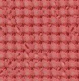 Luxe wafelhanddoeken roze rood corail pink 590 - Pousada Serie Abyss Habidecor