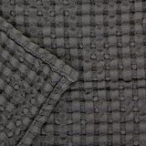 Luxe wafelhanddoeken grijs gris 920 - Pousada Serie Abyss Habidecor Afwerking