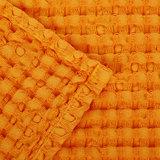 Luxe wafelhanddoeken oranje orange 635 - Pousada Serie Abyss Habidecor Afwerking