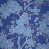 Behang Little Greene Camellia Smalt 20th Century Papers Luxury By Nature
