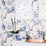 Ashfield Floral 'Vermilion'_