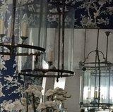 Marlowe Floral 'Prussian Blue'_