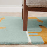vloerkleed Mr Fox aqua tapijt carpet karpet vloerkleden amsterdam luxury by nature 3