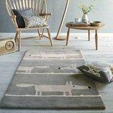 vloerkleed Mr Fox silver tapijt carpet karpet vloerkleden amsterdam luxury by nature sfeer