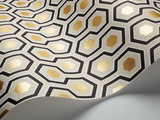 Cole and Son Hicks' Hexagon 66/8056 behang Luxury By Nature
