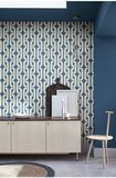 Behang Little Greene Lavaliers Low Wave sfeer Luxury By Nature