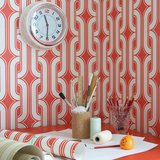 Behang Little Greene Lavaliers Atomic Luxury By Nature sfeer 1
