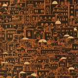 Behang Fornasetti 77-5017 Mediterranea close-up Cole and Son behangpapier Luxury By Nature