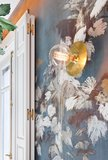 Behang Lizzo Foglie di Vite sfeer Cocktail bar detail 2