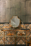 Cole & Son Antique Mirror 92-2009 and Pushkin 108-8042 sfeer - Mariinsky Damask Collectie Luxury By Nature