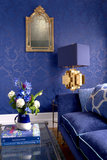 Behang Cole & Son Mariinsky Petrouchka 108-3011 sfeer 2 - Mariinsky Damask Collectie Luxury By Nature