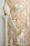 Behang Cole & Son Giselle 108-5024 sfeer - Mariinsky Damask Collectie Luxury By Nature