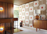 Giant Abacus Flower orla kiely behang luxury by nature sfeer