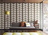 orla kiely behang voor Harlequin
