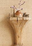 Raffia Behang Thibaut Bankun Raffia T14134 sfeer - Luxury By Nature