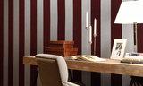 ARTE Behang Flamant Stripe Velvet and Lin sfeer - Flamant Les Rayures Stripes
