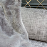 Fake fur bontplaid Nobilis Chartreux Luxury By Nature