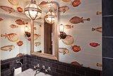 Vissen behang Fornasetti Acquario 97-10030 afbeelding Luxury By Nature
