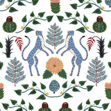Cheetah Bbehang Cheetahs 5900043 Anima Coordonné Luxury By Nature