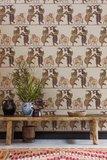 Olifanten Behang cole and son Safari Dance behang 109/8038 sfeer Ardmore Cole and Son