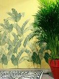 Tres Tintas Behang Bananella BA01 Bananenblad jungle sfeer 3