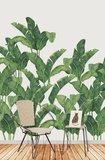 Tres Tintas Behang Bananella BA Bananenblad jungle
