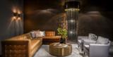 Lumière Glasschakel hanglamp met glazen ringen goud H700 sfeer Luxury By Nature