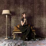 Texam Home Behang Stripe Metalsilk collectie sfeer