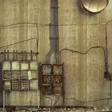 Texam Home Behang Stripe behangpapier Metalsilk collectie sfeer