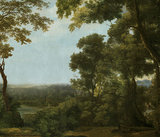 Klassiek landschap behang Pago Tres Tintas M2600-1