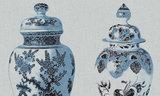 Arte Flamant behang poterie behangpapier Les Memoires 80000