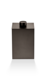 Luxe kleine prullenbak Decor Walther - Chroom - DW 76