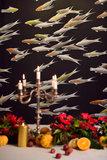 Fishes De Gournay Behang