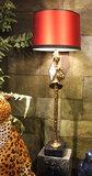 Messing Tafellamp Pieter Adam Lumiere - Vrouw