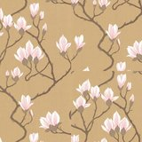 Cole and Son Magnolia behang 72-3008 goud 2