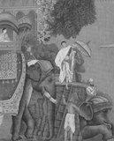 IKSEL Hindustan behang panorama behang grijs tinten