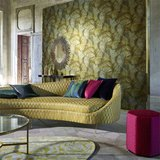 Taisho Deco Behang Zoffany The Muse Behang Collectie sfeer
