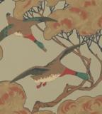Eenden Behang Mulberry Home Flying Ducks FG090.H22