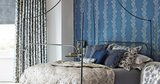 sanderson Sparkle coral behang luxury by nature sfeer 2