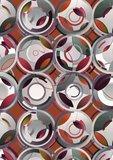 Kit Miles Behang Cylinders luna mica 803