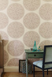 Sanderson Caverley Paisley Circles Behangpapier Luxury by Nature