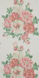 DCAVMI103 Sanderson Behang Caverley Midsummer Rose Red/Green 2