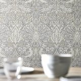 Morris Co Pure Dove andRose Behang - Pure Morris North Collectie